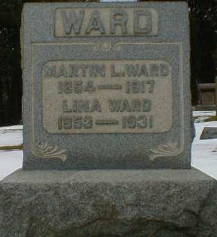 WARD, LINA - Gallia County, Ohio | LINA WARD - Ohio Gravestone Photos