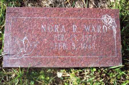 WARD, NORA R. - Gallia County, Ohio | NORA R. WARD - Ohio Gravestone Photos