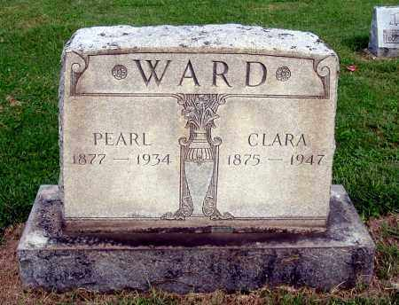 WARD, CLARA - Gallia County, Ohio | CLARA WARD - Ohio Gravestone Photos