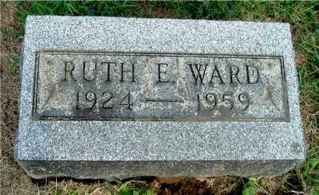 WARD, RUTH E - Gallia County, Ohio | RUTH E WARD - Ohio Gravestone Photos