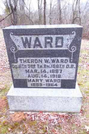WARD, THERON W. - Gallia County, Ohio | THERON W. WARD - Ohio Gravestone Photos