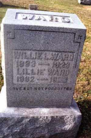 WARD, LILLIE - Gallia County, Ohio | LILLIE WARD - Ohio Gravestone Photos