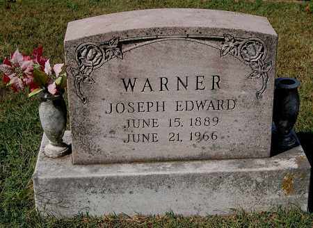 WARNER, JOSEPH EDWARD - Gallia County, Ohio | JOSEPH EDWARD WARNER - Ohio Gravestone Photos