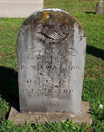 WATKINS, ELLA - Gallia County, Ohio | ELLA WATKINS - Ohio Gravestone Photos