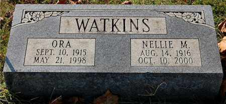 WATKINS, NELLIE M - Gallia County, Ohio | NELLIE M WATKINS - Ohio Gravestone Photos