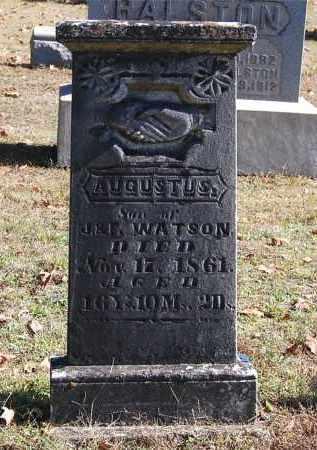WATSON, AUGUSTUS - Gallia County, Ohio | AUGUSTUS WATSON - Ohio Gravestone Photos