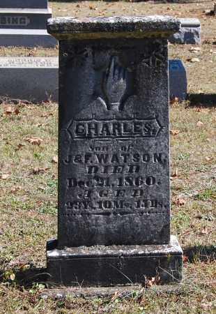 WATSON, CHARLES - Gallia County, Ohio | CHARLES WATSON - Ohio Gravestone Photos