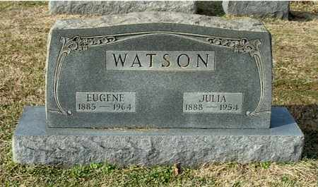 WATSON, JULIA - Gallia County, Ohio | JULIA WATSON - Ohio Gravestone Photos