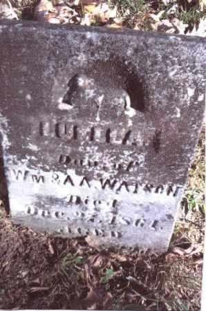 WATSON, LUELLA - Gallia County, Ohio | LUELLA WATSON - Ohio Gravestone Photos
