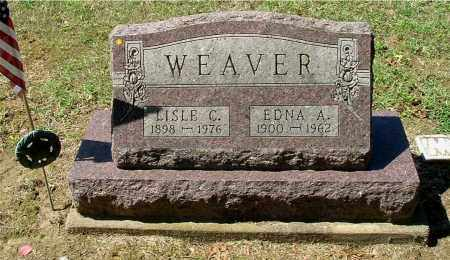 WEAVER, EDNA A - Gallia County, Ohio | EDNA A WEAVER - Ohio Gravestone Photos