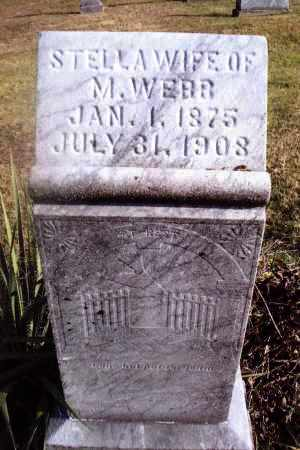 WEBB, STELLA - Gallia County, Ohio | STELLA WEBB - Ohio Gravestone Photos