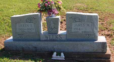 WEEKS, EILEEN F - Gallia County, Ohio | EILEEN F WEEKS - Ohio Gravestone Photos