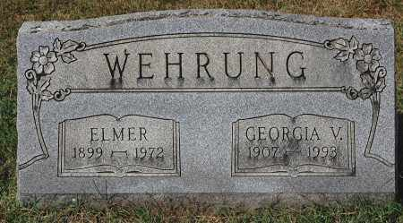 WEHRUNG, ELMER - Gallia County, Ohio | ELMER WEHRUNG - Ohio Gravestone Photos
