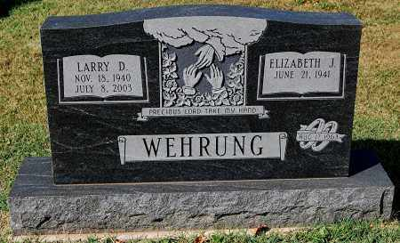 WEHRUNG, LARRY D - Gallia County, Ohio | LARRY D WEHRUNG - Ohio Gravestone Photos