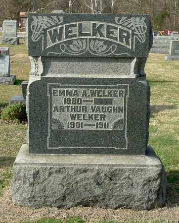 WELKER, EMMA A - Gallia County, Ohio | EMMA A WELKER - Ohio Gravestone Photos