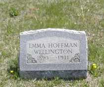 HOFFMAN WELLINGTON, EMMA - Gallia County, Ohio | EMMA HOFFMAN WELLINGTON - Ohio Gravestone Photos