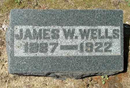 WELLS, JAMES W - Gallia County, Ohio | JAMES W WELLS - Ohio Gravestone Photos