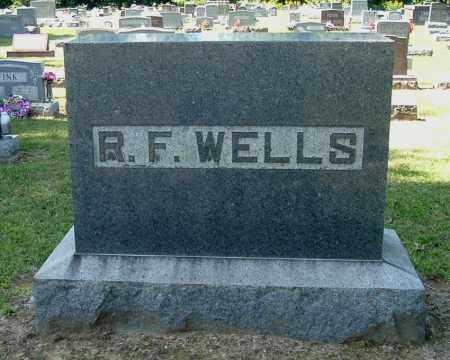 WELLS, R. F. - Gallia County, Ohio | R. F. WELLS - Ohio Gravestone Photos