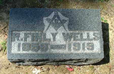 WELLS, R. FINLY - Gallia County, Ohio | R. FINLY WELLS - Ohio Gravestone Photos