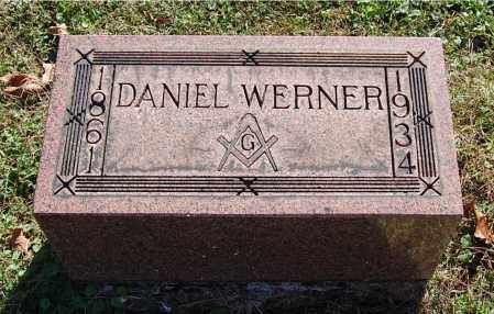 WERNER, DANIEL - Gallia County, Ohio | DANIEL WERNER - Ohio Gravestone Photos