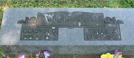 WERNER, NELLE J - Gallia County, Ohio | NELLE J WERNER - Ohio Gravestone Photos