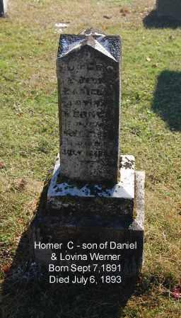 WERNER, HOMER C - Gallia County, Ohio | HOMER C WERNER - Ohio Gravestone Photos