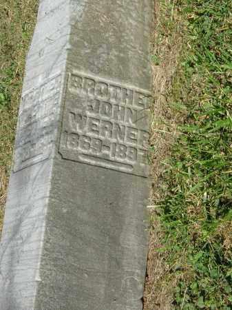 WERNER, JOHN - Gallia County, Ohio | JOHN WERNER - Ohio Gravestone Photos