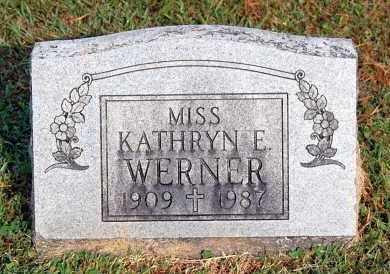 WERNER, KATHRYN E - Gallia County, Ohio | KATHRYN E WERNER - Ohio Gravestone Photos