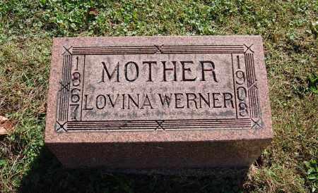 WERNER, LOVINA - Gallia County, Ohio | LOVINA WERNER - Ohio Gravestone Photos