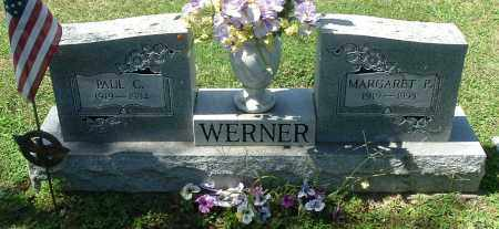 WERNER, MARGARET P - Gallia County, Ohio | MARGARET P WERNER - Ohio Gravestone Photos