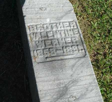WERNER, VALENTINE - Gallia County, Ohio | VALENTINE WERNER - Ohio Gravestone Photos