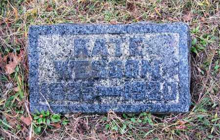 WESSON, KATE - Gallia County, Ohio | KATE WESSON - Ohio Gravestone Photos