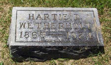 BLAZER WETHERHOLD, HARTIE A. - Gallia County, Ohio | HARTIE A. BLAZER WETHERHOLD - Ohio Gravestone Photos