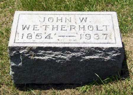 WETHERHOLT, JOHN WILLIAM - Gallia County, Ohio | JOHN WILLIAM WETHERHOLT - Ohio Gravestone Photos