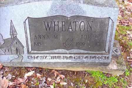 WHEATON, ANNA M. - Gallia County, Ohio | ANNA M. WHEATON - Ohio Gravestone Photos
