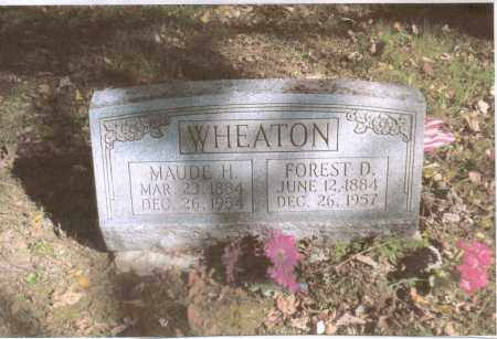 WHEATON, FOREST - Gallia County, Ohio | FOREST WHEATON - Ohio Gravestone Photos