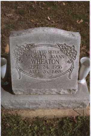 WHEATON, MARILYN - Gallia County, Ohio | MARILYN WHEATON - Ohio Gravestone Photos
