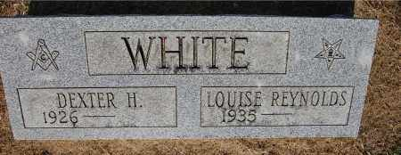 REYNOLDS WHITE, LOUISE - Gallia County, Ohio | LOUISE REYNOLDS WHITE - Ohio Gravestone Photos