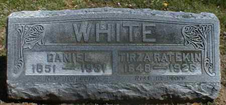 RATEKIN WHITE, TIRZA - Gallia County, Ohio | TIRZA RATEKIN WHITE - Ohio Gravestone Photos