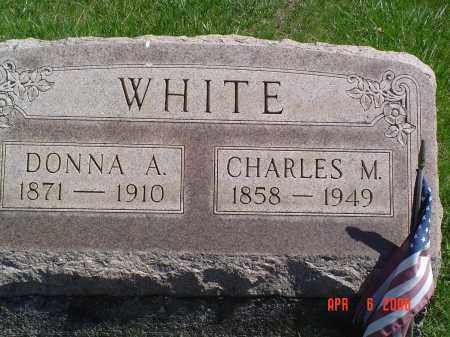 WHITE, CHARLES M. - Gallia County, Ohio | CHARLES M. WHITE - Ohio Gravestone Photos
