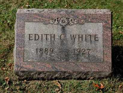 WHITE, EDITH C - Gallia County, Ohio | EDITH C WHITE - Ohio Gravestone Photos