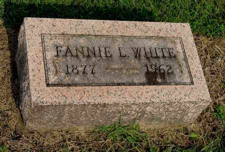 WHITE, FANNIE L - Gallia County, Ohio | FANNIE L WHITE - Ohio Gravestone Photos