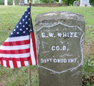 WHITE, G.W. - Gallia County, Ohio | G.W. WHITE - Ohio Gravestone Photos