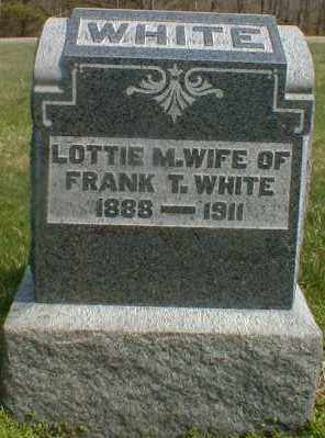 WHITE, LOTTIE - Gallia County, Ohio | LOTTIE WHITE - Ohio Gravestone Photos