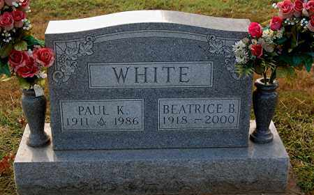 WHITE, PAUL K - Gallia County, Ohio | PAUL K WHITE - Ohio Gravestone Photos
