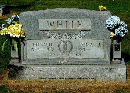 WHITE, RONALD - Gallia County, Ohio | RONALD WHITE - Ohio Gravestone Photos
