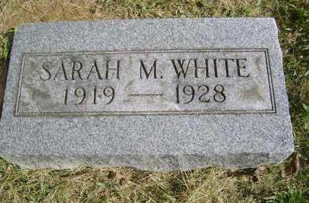 WHITE, SARAH - Gallia County, Ohio | SARAH WHITE - Ohio Gravestone Photos