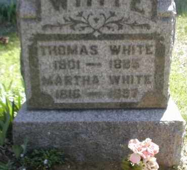 WHITE, MARTHA - Gallia County, Ohio | MARTHA WHITE - Ohio Gravestone Photos