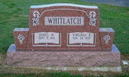 WHITLATCH, VIRGINIA E - Gallia County, Ohio | VIRGINIA E WHITLATCH - Ohio Gravestone Photos