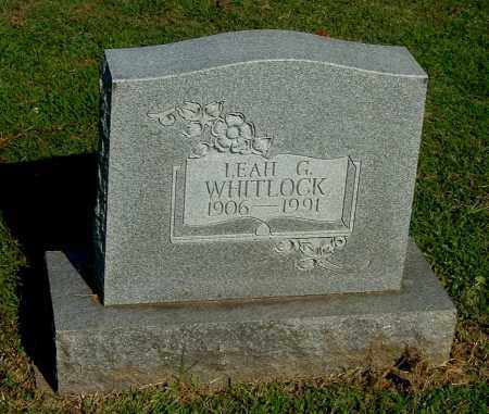 WHITLOCK, LEAH G - Gallia County, Ohio | LEAH G WHITLOCK - Ohio Gravestone Photos